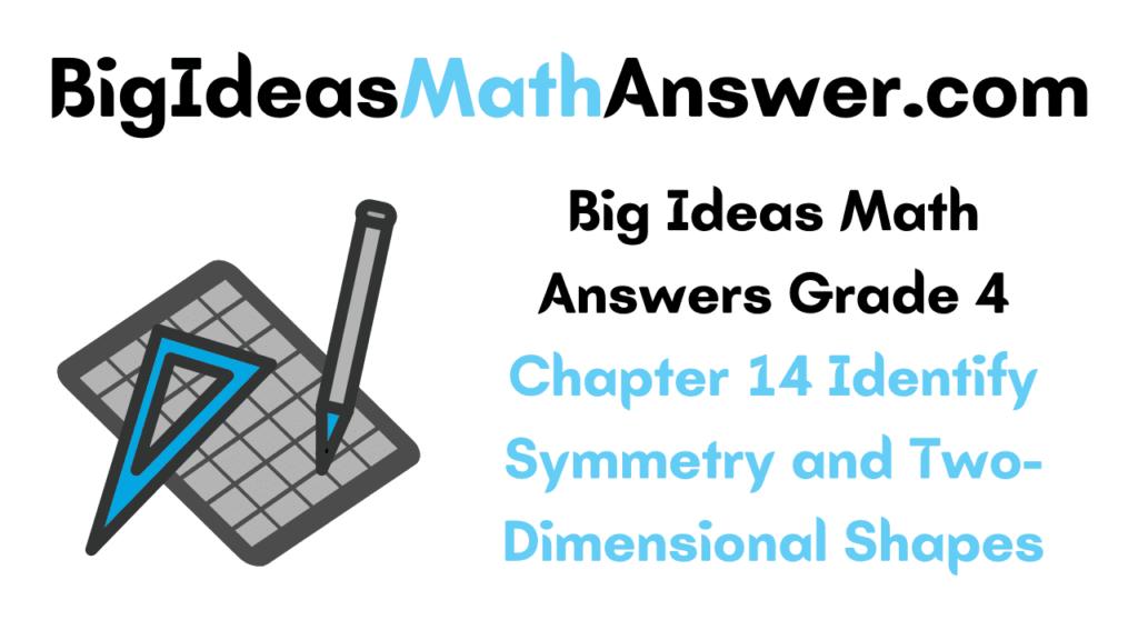 Big Ideas Math Answers Grade 4 Chapter 14