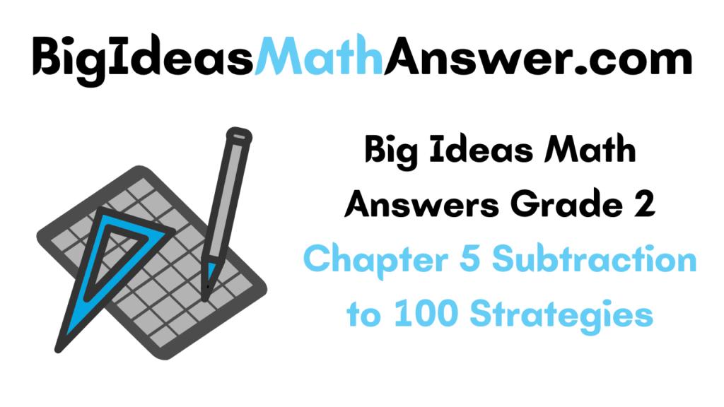 Big Ideas Math Answers Grade 2 Chapter 5